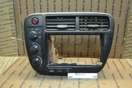 99-00 E2 Honda Civic Climate Control Radio Bezel 77251501WA001 475-6B4 - $88.81