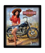 Harley-Davidson Gone Fishin' Pin-Up Metal Sign - $16.95