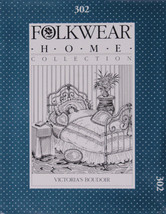 Folkwear Victoria's Boudoir Home Collection #302 Sewing Pattern Only fol... - $19.95