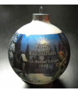 Hummel Glass Ornament 1993 Little Guardian 11th Annual Edition Reproduct... - $11.99