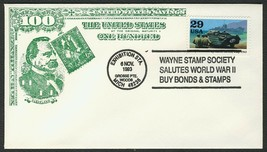 World War II 50th Anniv., Bonds & Stamps [5] **ANY 4=FREE SHIPPING** - $1.00