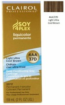 Clairol Professional Soy4Plex LIGHT ULTRA COOL BROWN 4AA 37D Hair Color  - $7.93