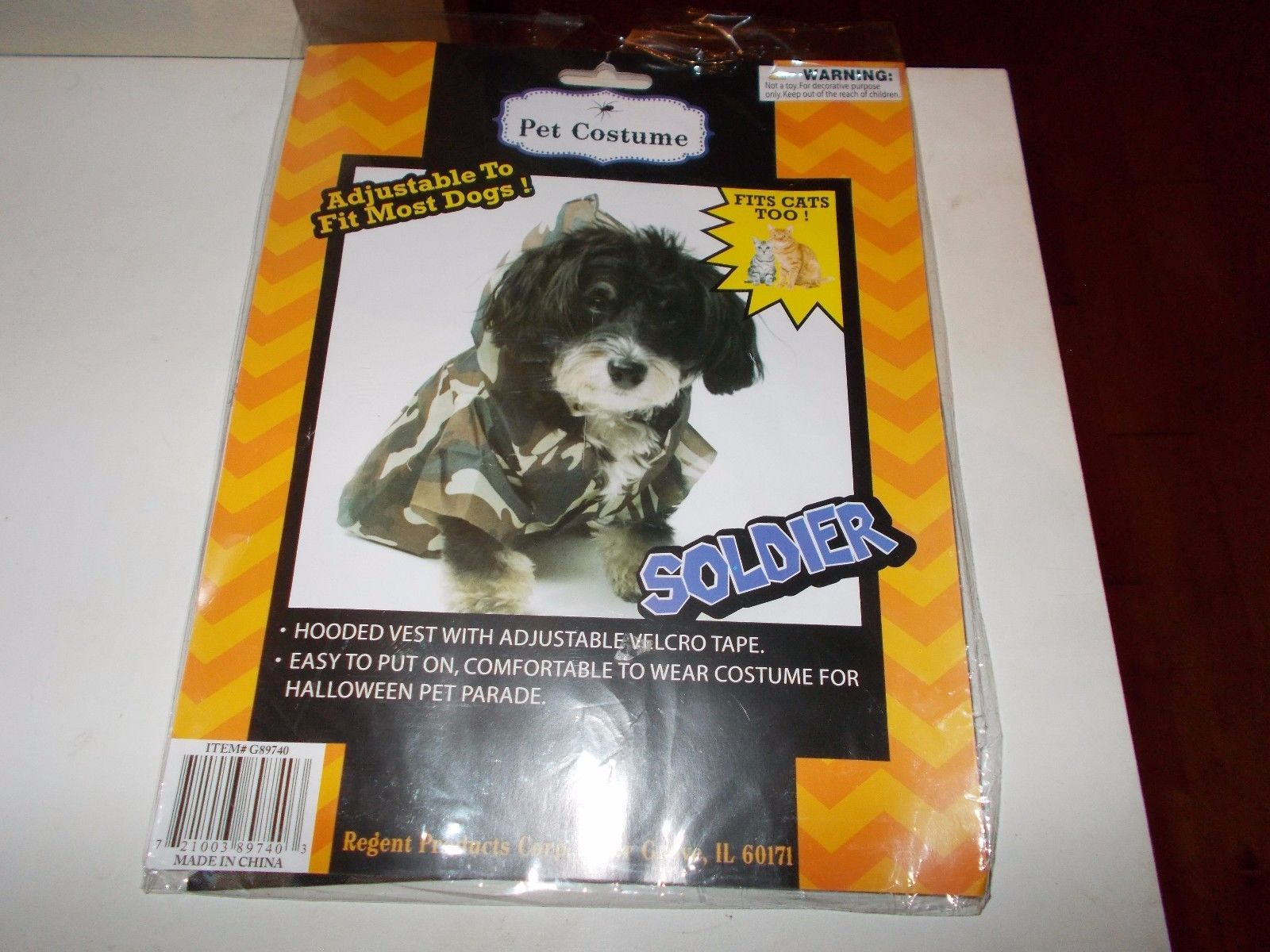 6d6ccf52774 Dog Pet Costume Soldier Fits Cats Too and 50 similar items