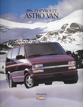 1996 Chevrolet ASTRO VAN sales brochure catalog 96 US Chevy LS LT - $6.00