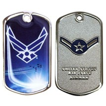 Army Coin: Airman With Plastic Sleeve - $17.80