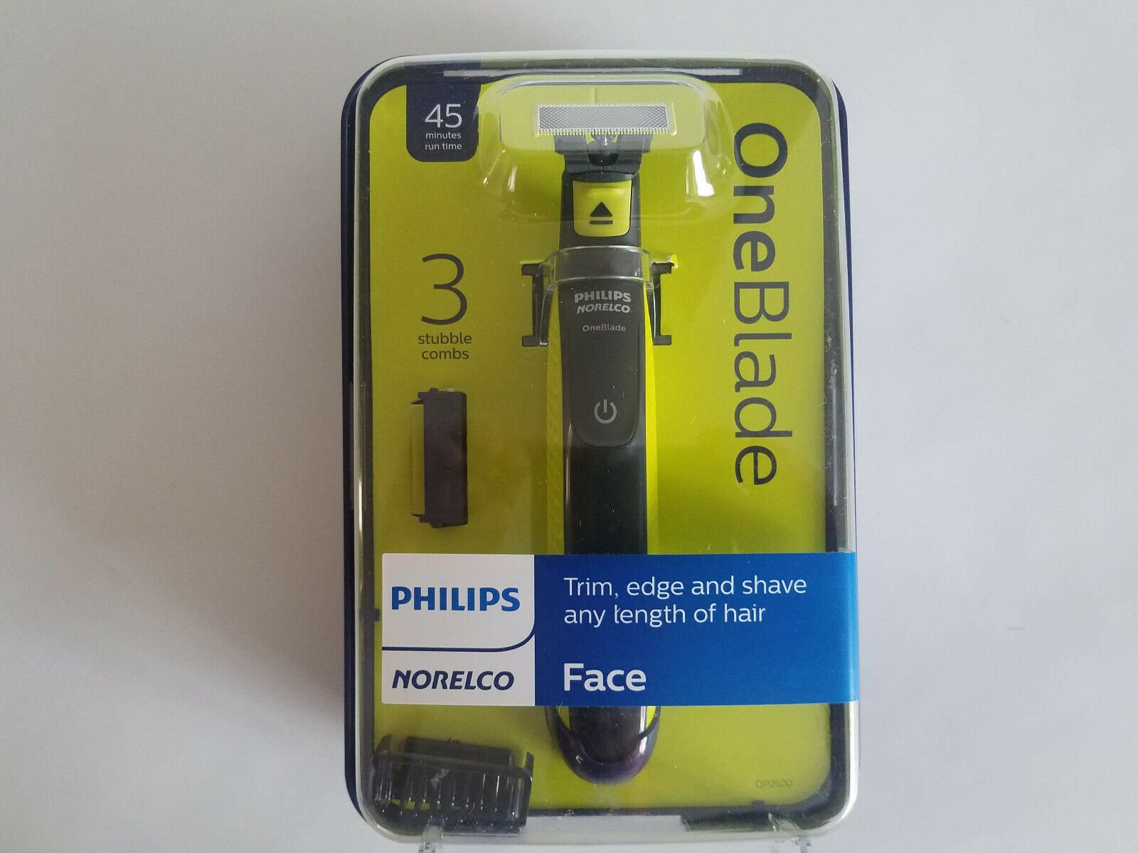 Primary image for Philips Norelco OneBlade Bonus Pack with Free Blade, QP2520/70