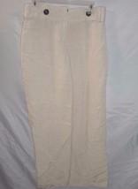Alfani Beige Linen Blend Flat Front Women's Cas... - $9.89