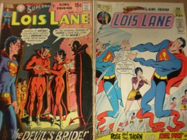 Lois Lane  No 116 and 103 in GD  condition. DC comics  - $18.99
