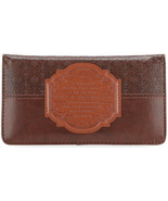 """Checkbook Cover Brown """"For I Know The Plans"""" Jeremiah 29:11 Great Gift! - $10.51"""