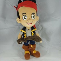 "Disney Jr Jake and the Neverland Pirates Soft Plush Doll 13"" Disney Store - $13.50"