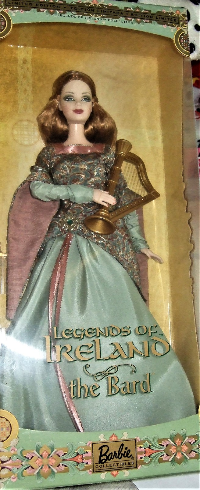 "Barbie Doll Legends Of Ireland ""The Bard"" Limited Edition"