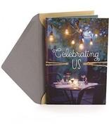 Hallmark Our Anniversary Greeting Card (Celebrating Us) - $13.47