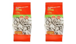 Roasted Pumpkin Seeds Slightly Salted 2*125 grs White Spices of the World - $29.99