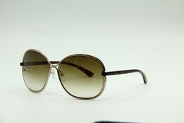 NEW TOM FORD TF 222 34F LEILA GOLD SUNGLASSES AUTHENTIC 63-14 W/CASE - $242.17