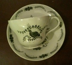 Wedgwood of Etruria & Barlaston Partridge in a Pear Tree Cup & Saucer Set - $21.47