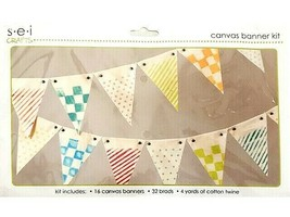 SEI Crafts Canvas Banner Kit #1-0241, Make Your Own Banner!