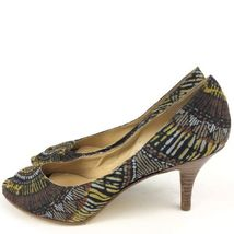 Heels Peep 7 Size Multicolored Castilleo Womans toe West Nine EOqz00