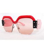 MIU MIU Women's Sunglasses MU09SS VIW4Q0 Red/Pink MADE IN ITALY - New! - $235.00