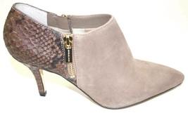 Women's Michael Kors CLARA MID BOOTIE Pointed Toe Double Zip Closure Dar... - £90.58 GBP
