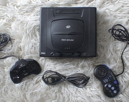 Sega Saturn Console, Controllers and 5 Games!  Rarely Even Played! - $499.99