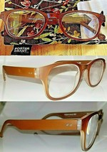 3 Pairs  +1.50 Foster Grant Darcey Womens Reading Glasses w/ Case Orange Spg Hng - $17.24