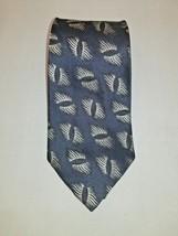 Giorgio Armani Italian 100% Silk Black Abstract Design Classic Mens Tie/... - $28.95