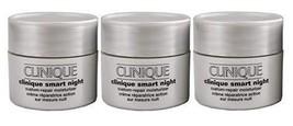 Clinique Smart Night Custom-Repair Moisturizer Dry/Combination Skin .5oz... - $32.25