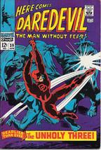 Daredevil Comic Book #39 Marvel Comics 1968 FINE/FINE+ - $23.14