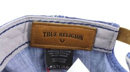 True Religion Men's Vintage Distressed Cotton Horseshoe Trucker Hat Cap TR2095 image 9