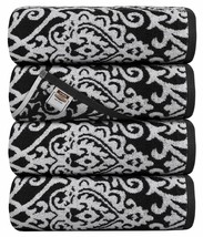 Utopia Towels Damask Jacquard Bath Towels, 4 Pack  (Grey, Pack of 4 Bath... - $41.53
