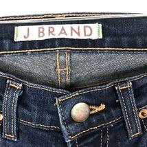 J Brand Damen Größe 24 Skinny Knöchel Jeans mit Dunkel Gewaschener Denim Blau image 3