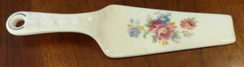 Vintage Homer Laughlin KITCHEN KRAFT Ceramic Pie Cake Server Utensil