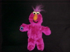 "13"" Telly Monster Plush Toy With Symbol Tag From Sesame Street By Applau... - $70.11"
