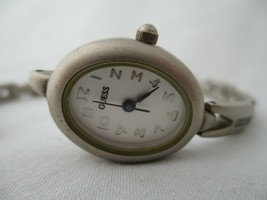 Timex Ladies Watch Silver Toned Bracelet Band Oval Face - $20.00