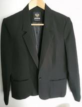 Womens Blazer Panter Size 8 Black Made In USA, Jacket para mujer Tamaño 8 - $29.69