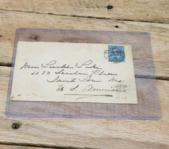 1898 Postage & Revenue 2 1/2 Envelope Beaver Line Of Steamers To Canada ... - $49.45