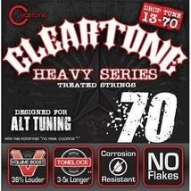 Cleartone Monster Heavy Series Nickel-Plated Drop C Electric Guitar Strings - $17.81