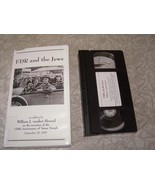 FDR & The Jews VHS Video An Address By William J. Vanden Heuvel on the o... - $24.99