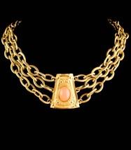 Vintage Givenchy necklace - signed Bijoux Couture Designer jewelry - des... - $475.00