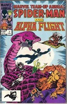 Marvel Team-Up Comic Book Annual #7 Spider-Man and Alpha Flight 1984 NEA... - $5.94