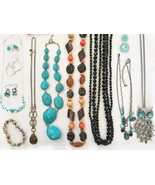 Estate Vintage Lot Assorted Designer Costume Jewelry L302 - $33.69