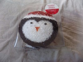 """2 Shatterproof Large Sparkly Penguin 6"""" Ornaments by Celebrate It - $4.99"""
