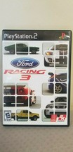 Ford Racing 3 (Sony PlayStation PS2, 2005) Video Game - $7.91