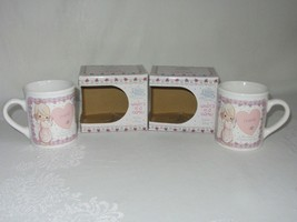 2 Precious Moments 1994 Mug Whats In a Name Friend 134198 Enesco Coffee Tea - $29.69