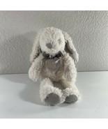 Kellytoy White Rabbit Bunny Plush Rattle Crinkle Ears Baby Stuffed Anima... - $16.83