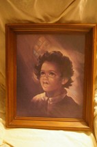 Home Interior Choir Boy Picture Homco Rare Find - $35.00
