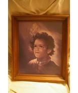 Home Interior Choir Boy Picture Homco Rare Find - $35.00