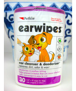 Petkin Ear Wipes Cleanser Deodorizer for Dogs & Cats - $7.91