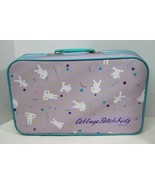 1986 Cabbage Patch Kids Purple and Turquoise Suitcase Has Slight Wear Go... - $36.14