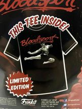 Men's Blood Sport Funko Home Video VHS Boxed Short Sleeve Tee Exclusive NIB image 4